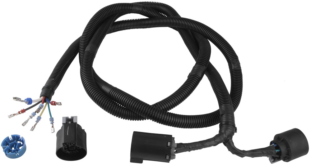 pollak 5th wheel and gooseneck trailer connector wiring harness w t connector pollak custom fit