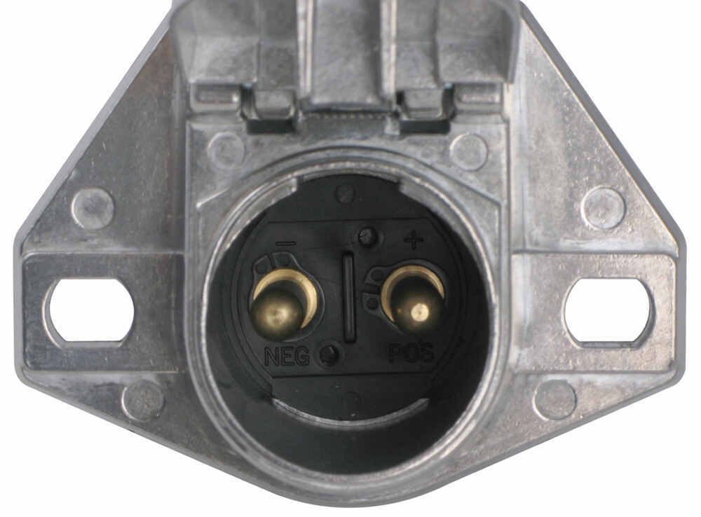 2-pole Socket Connector