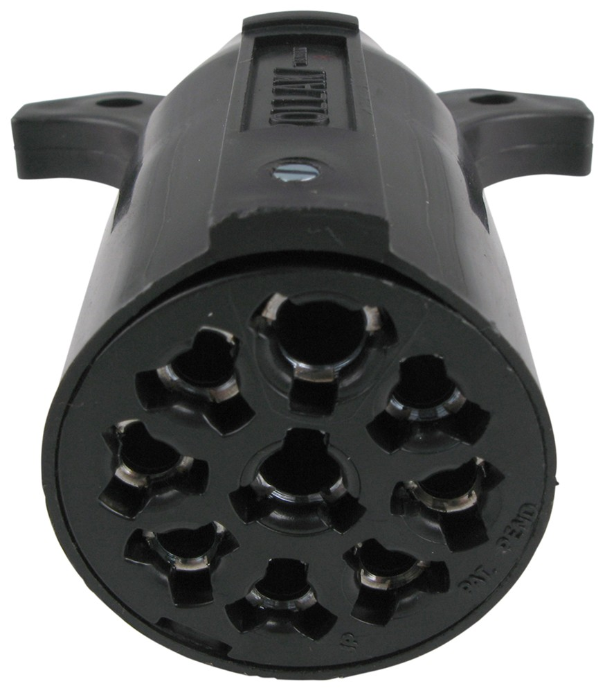 Pollak 9-pole  Round Pin Trailer Connector