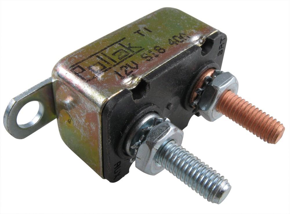 Pollak Circuit Breaker - Cycling/Automatic Reset - 40 Amp ...