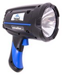 "Handheld Spotlight - 1 Million CP - 3-1/2"" Reflector - Cordless - AC Rechargeable"
