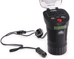 Peak Performance Mobile Power Inverter for Vehicle Cup Holder - AC Outlets and USB Ports - 150 Watts
