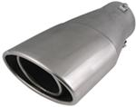 Bully Oval Slant Bolt-on Exhaust Tip