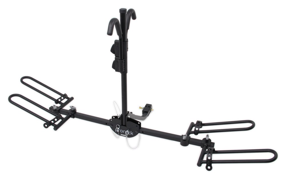 prorack 2 bike carrier for 1 4 u0026quot  and 2 u0026quot  hitches