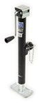 "Pro Series Round, Pipe-Mount Swivel Jack w/ Footplate - Sidewind - 15"" Lift - 2,000 lbs"