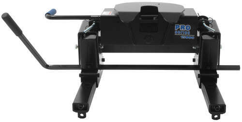 PS30094 Pro Series 5th Wheel Trailer Hitch w/ Square Tube Slider - Slide Bar Jaw - 15,000 lbs