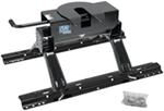 Pro Series 5th Wheel Trailer Hitch w/ Rails and Installation Kit - Slide Bar Jaw - 16,000 lbs