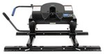 Pro Series 5th Wheel Hitch w/ Square Tube Slider, Rails and Installation Kit - Dual Jaw - 20,000 lbs