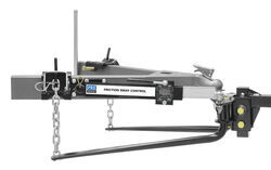 Pro Series Weight Distribution System w Friction Sway Control - Round - 10,000 lbs GTW, 1,000 lbs TW