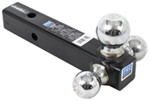 "Pro Series Tri-Ball Mount for 2"" Hitches - 1-7/8"", 2"", 2-5/16"" Balls - Chrome"