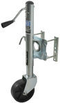 "Pro Series Snap-Ring Swivel Marine Jack - Bolt On - Sidewind - 10"" Lift - 1,000 lbs"