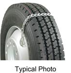 Glacier Emergency Twist-Link Snow Tire Chains for Heavy Trucks - 1 Pair