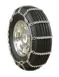 Glacier V-Bar Snow Tire Chains with Cam Tighteners for Light Trucks - 1 Pair