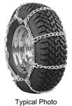 Glacier Twist-Link Snow Tire Chains with Cam Tighteners for Wide-Base Tires - 1 Pair
