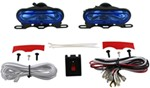 "Thin-Line Driving Light Kit - Halogen - Oblong, 4-3/4"" x 2-1/8"" - HID-Style Lens - Qty 2"