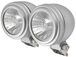"Driving Light Kit - Halogen - 55 Watt - Round, 2-7/16"" - Clear Lens w Chrome Housing - Qty 2"