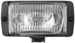 55-Watt Halogen Area Utility Light, Rectangular - Clear