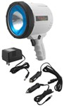 2-Million-CP Spotlight - Dual Power - Rechargeable w/ AC or DC Charger - Glare Reduction - White