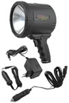 2-Million-CP Spotlight - Dual Power - Rechargeable w/ 12-Volt DC and 220-Volt AC Chargers - Black