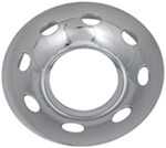 Quick Trim Chrome Finish Trailer Hub Cover 6 on 5-1/2