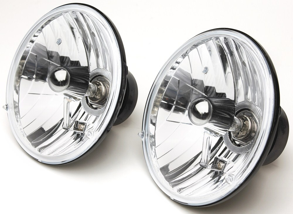 Rampage Headlight Conversion Kit - Sealed Beam To Halogen