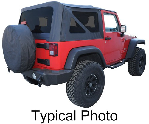 Jeep Yj Soft Top Replacement Bow Kit 88 95 Jeep Wrangler: Rampage Jeep Tops For Jeep Wrangler 2000