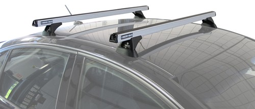 "RB1375 Rhino-Rack Heavy-Duty Roof Rack Crossbars - Silver - 54"" Long - Qty 2"