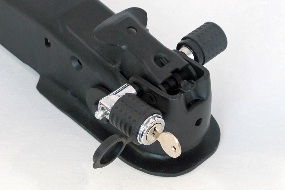 Coupler Latch Pin : Deadbolt adjustable trailer coupler latch lock w