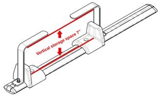 Ladder Mounting Kit for Rhino Rack Heavy Duty Crossbars