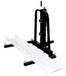 Trailer Hitch Mounted Dirt Bike Carrier - Raises and Lowers
