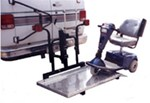 "Trailer Hitch Mounted Scooter / Wheelchair Carrier for 2"" Trailer Hitches - Fold Up"