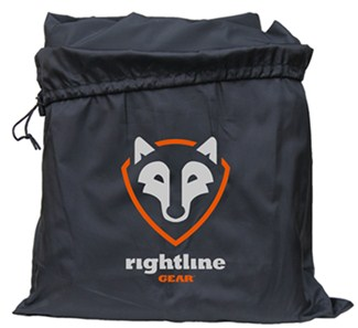 Drawstring storage bag for Rightline Sport 1 cargo carrier