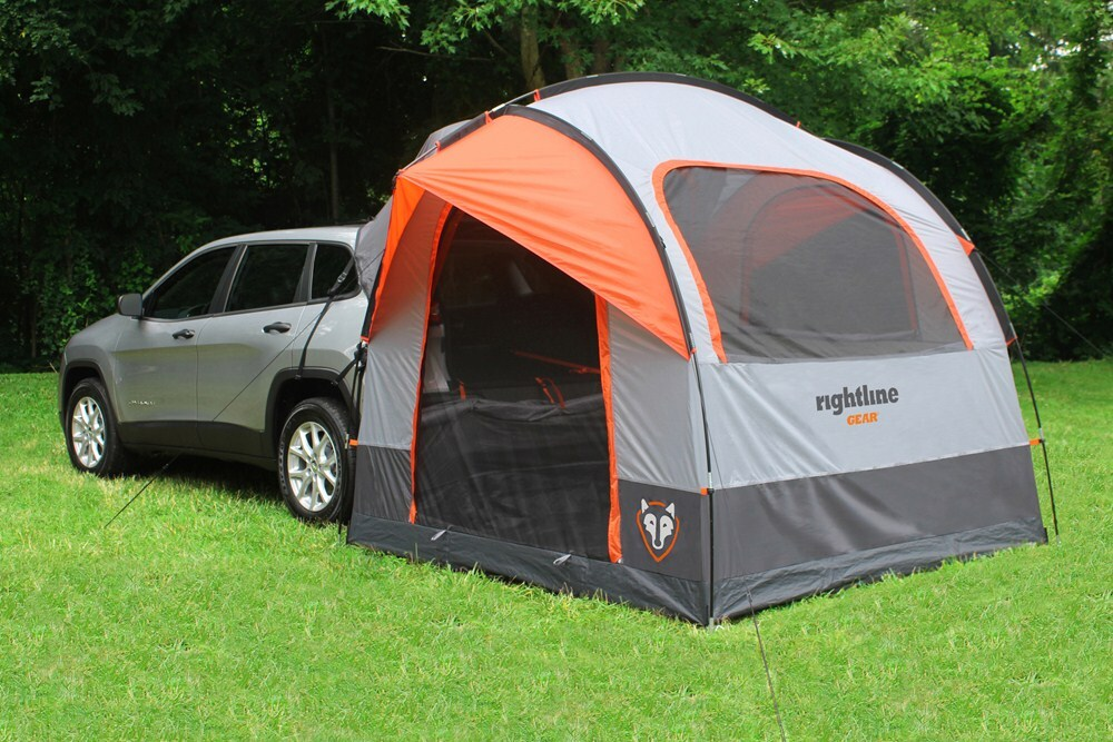 Rightline Gear Suv Tent With Rainfly Waterproof Sleeps