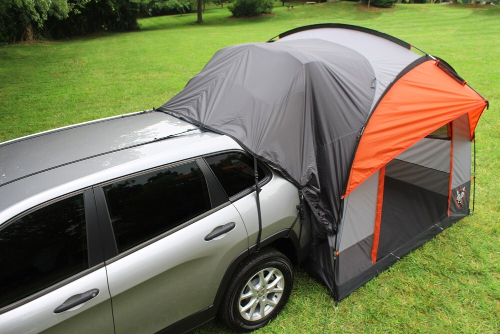 Rightline Gear SUV Tent with Rainfly - Waterproof - Sleeps 4 Rightline Gear Truck Bed Tents RL110907