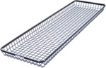"Rhino-Rack Steel Mesh, Roof Mounted Cargo Basket - 83"" Long x 22"" Wide"