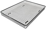 "Steel Mesh Cargo Basket for Rhino-Rack Aero/Sportz Crossbars - 61"" Long x 45"" Wide"