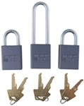 Roadmaster Lock Set, 2 Quick Disconnect Locks, 1 Coupler Lock