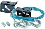 Roadmaster EZ Hook Safety Cables with Anchors, 6,000 lbs. (1 Pair)
