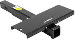 "Hitch Extender with Step for 2"" Trailer Hitch Receivers 18"""