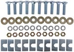 Replacement Hardware Kit for Fifth Wheel Base Rails - 10 Bolt