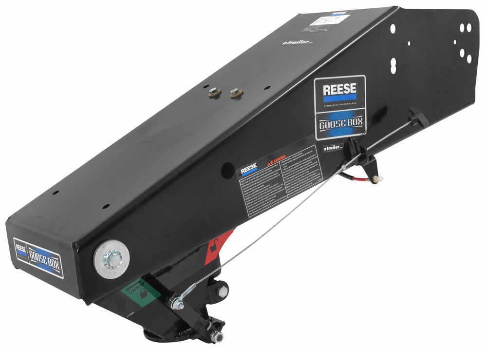5th Wheel Pin Box Extension : Reese goose box th wheel to gooseneck air ride coupler