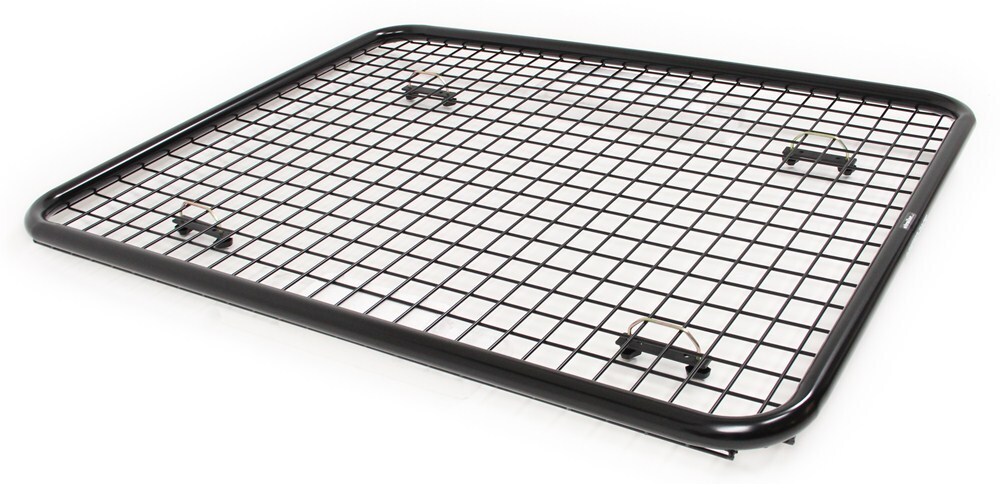 rhino-rack steel mesh  roof mounted cargo tray