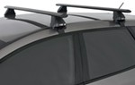 "Rhino-Rack 2500 Series Roof Rack with Aero Crossbars - 54"" Long - Black"