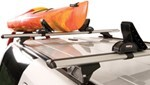 Explorer Series Rear-Loading, Saddle-Style Kayak Carrier for Rhino-Rack, Thule and Yakima Crossbars