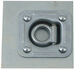 Recessed Trailer D-Ring Tie Down with Backing Plate and Hardware, 5K