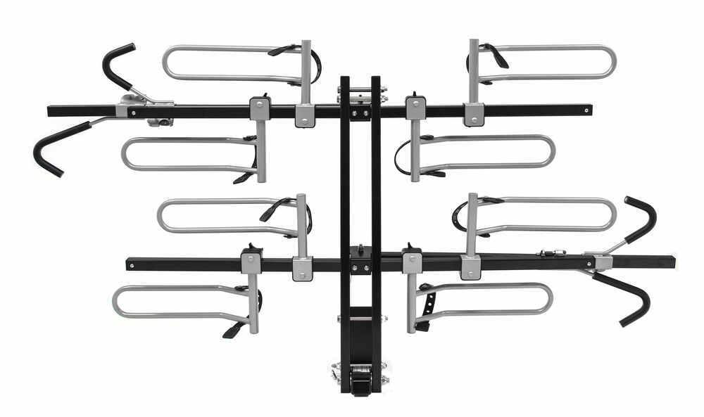 swagman xtc4 4-bike rack for 2 u0026quot  hitches