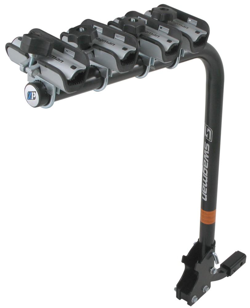 """Swagman Bike Rack >> Swagman XP - Folding 4 Bike Rack for 1-1/4"""" and 2"""" Trailer Hitches Swagman Hitch Bike Racks S64960"""