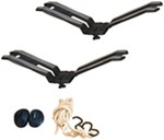 Swagman Exo Aero Rooftop Kayak Carrier System with Tie-Downs - Saddle Style - Universal Mount