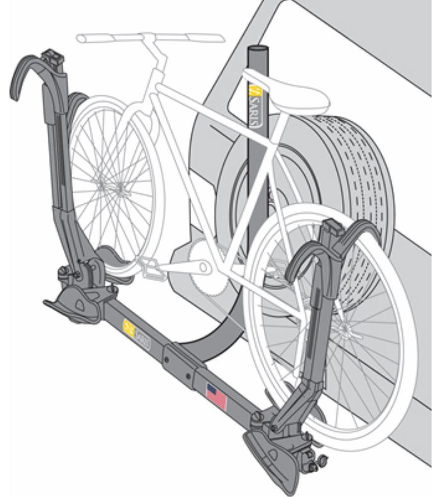 Saris Freedom Superclamp Spare Tire 2 Bike Rack Platform