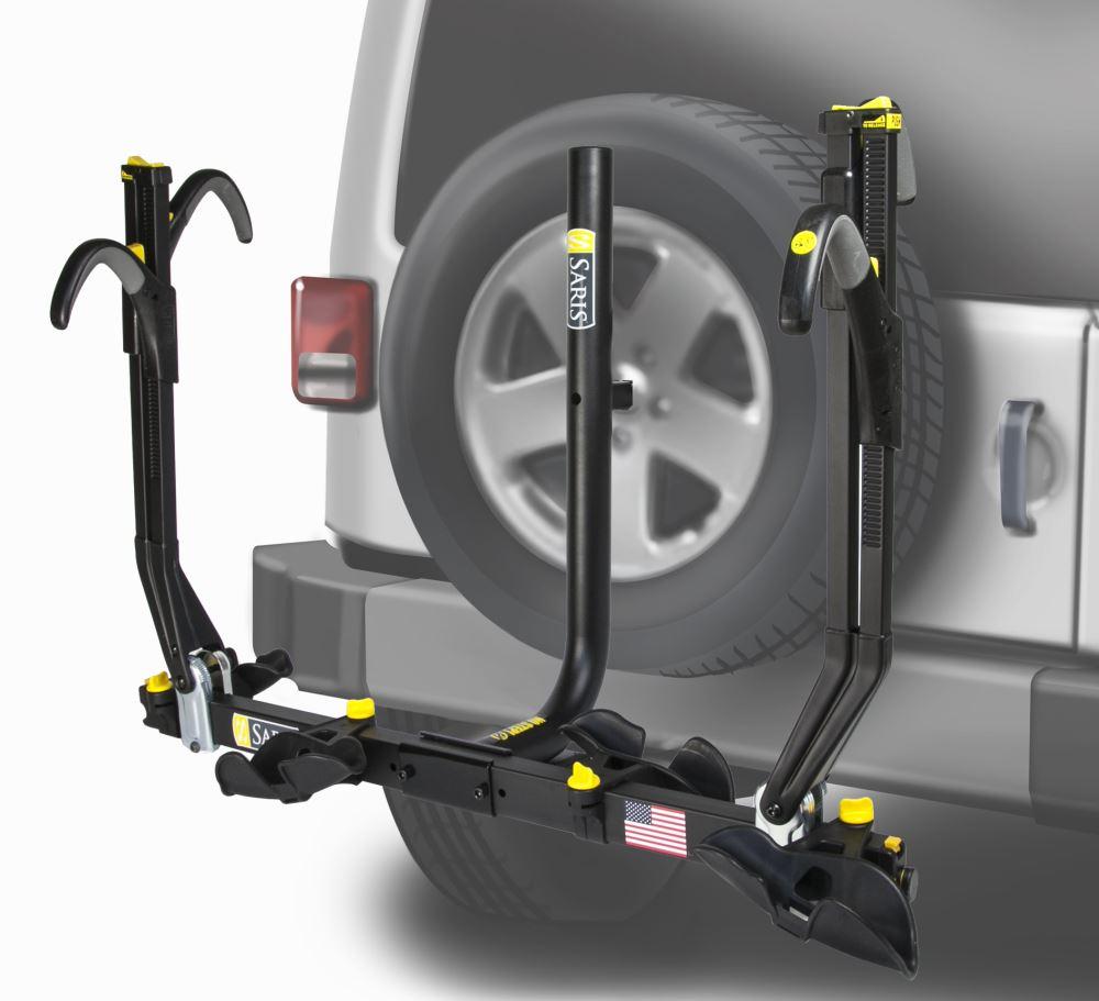 Saris Spare Tire Bike Racks For Jeep Wrangler Unlimited